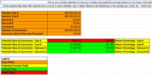 Simple Potential Earnings Calculator